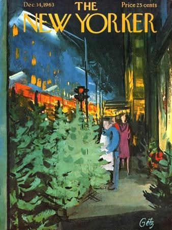 The New Yorker Cover - December 14, 1963