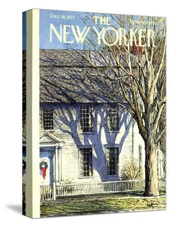 The New Yorker Cover - December 18, 1971
