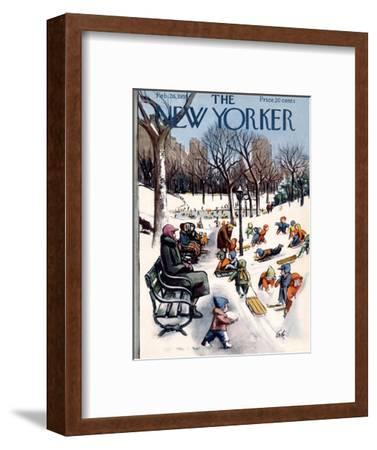 The New Yorker Cover - February 26, 1955