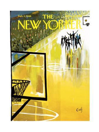 The New Yorker Cover - February 5, 1966 by Arthur Getz