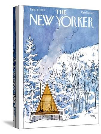 The New Yorker Cover - February 6, 1978