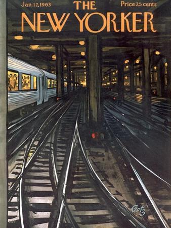 The New Yorker Cover - January 12, 1963