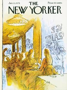 The New Yorker Cover - January 13, 1975 by Arthur Getz