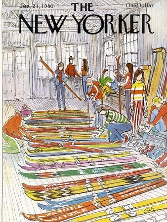 The New Yorker Cover - January 21, 1980