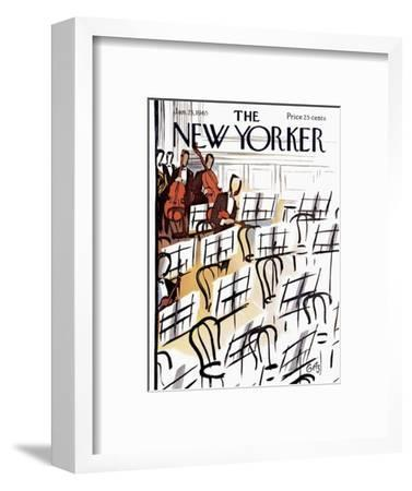 The New Yorker Cover - January 23, 1965