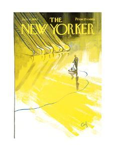 The New Yorker Cover - July 17, 1965 by Arthur Getz