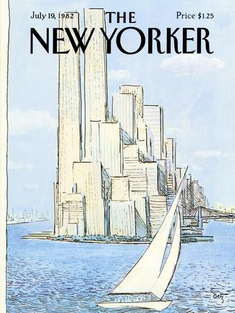 The New Yorker Cover - July 19, 1982