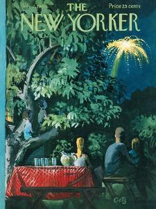 The New Yorker Cover - July 2, 1960 by Arthur Getz