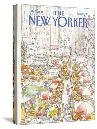 The New Yorker Cover - July 27, 1981