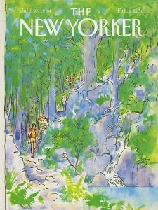 The New Yorker Cover - July 30, 1984 by Arthur Getz