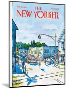 The New Yorker Cover - July 6, 1981 by Arthur Getz
