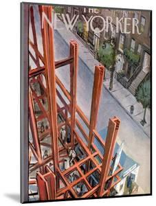 The New Yorker Cover - July 9, 1955 by Arthur Getz