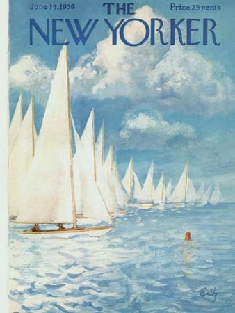 The New Yorker Cover - June 13, 1959