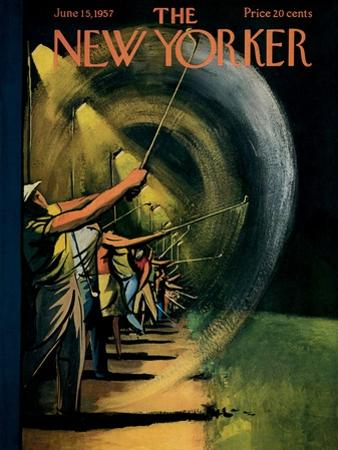 The New Yorker Cover - June 15, 1957