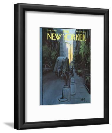 The New Yorker Cover - June 17, 1961