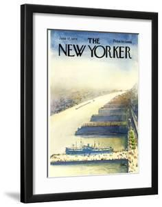 The New Yorker Cover - June 17, 1974 by Arthur Getz