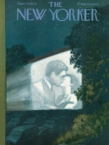 The New Yorker Cover - June 19, 1954 by Arthur Getz
