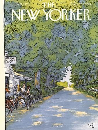 The New Yorker Cover - June 21, 1976