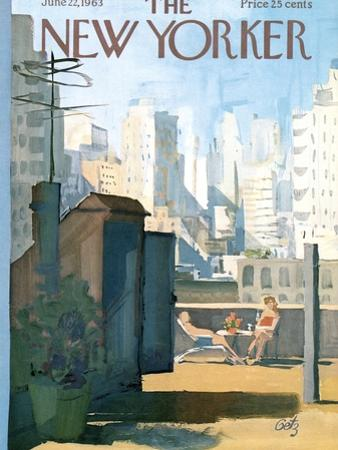 The New Yorker Cover - June 22, 1963