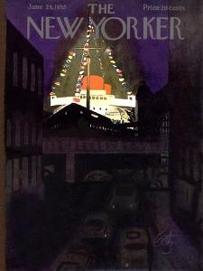 The New Yorker Cover - June 28, 1952 by Arthur Getz