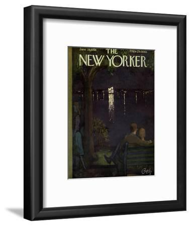 The New Yorker Cover - June 28, 1958