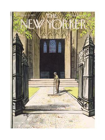 The New Yorker Cover - June 4, 1955