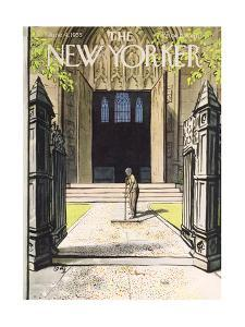 The New Yorker Cover - June 4, 1955 by Arthur Getz