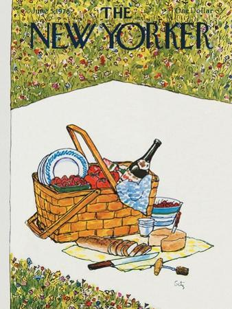 The New Yorker Cover - June 5, 1978 by Arthur Getz