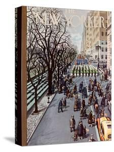 The New Yorker Cover - March 14, 1953 by Arthur Getz