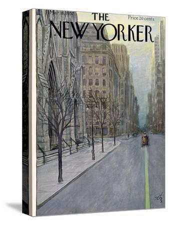 The New Yorker Cover - March 16, 1957