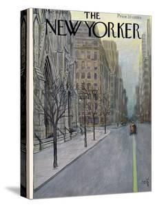 The New Yorker Cover - March 16, 1957 by Arthur Getz