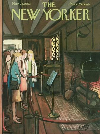 The New Yorker Cover - March 23, 1963