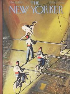 The New Yorker Cover - March 27, 1954 by Arthur Getz