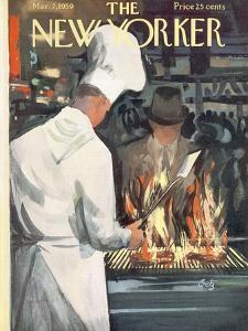 The New Yorker Cover - March 7, 1959 by Arthur Getz