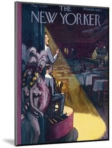 The New Yorker Cover - May 19, 1951 by Arthur Getz