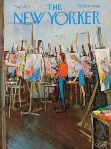 The New Yorker Cover - May 2, 1970 by Arthur Getz