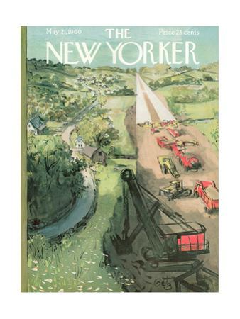 The New Yorker Cover - May 21, 1960