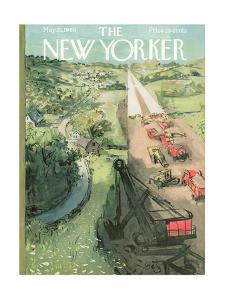 The New Yorker Cover - May 21, 1960 by Arthur Getz