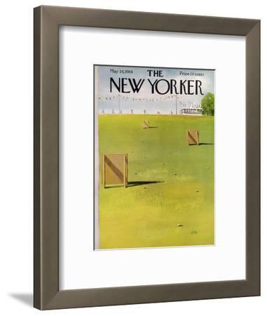 The New Yorker Cover - May 26, 1956