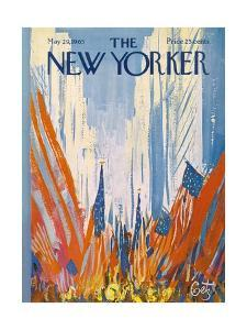 The New Yorker Cover - May 29, 1965 by Arthur Getz