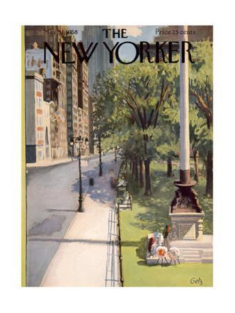 The New Yorker Cover - May 31, 1958