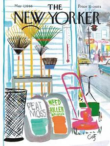 The New Yorker Cover - May 7, 1966 by Arthur Getz