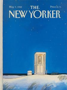 The New Yorker Cover - May 9, 1988 by Arthur Getz