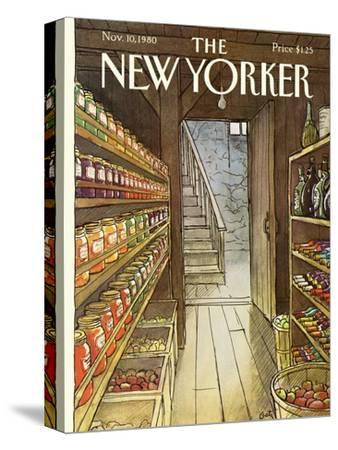 The New Yorker Cover - November 10, 1980