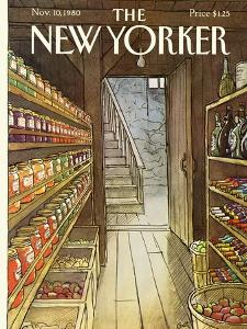 The New Yorker Cover - November 10, 1980 by Arthur Getz