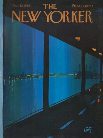 The New Yorker Cover - November 12, 1966