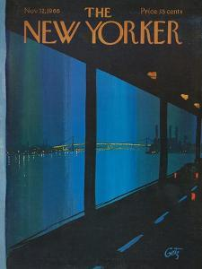 The New Yorker Cover - November 12, 1966 by Arthur Getz