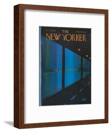 The New Yorker Cover - November 12, 1966
