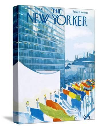 The New Yorker Cover - November 14, 1964