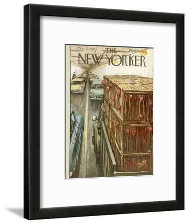 The New Yorker Cover - November 17, 1956